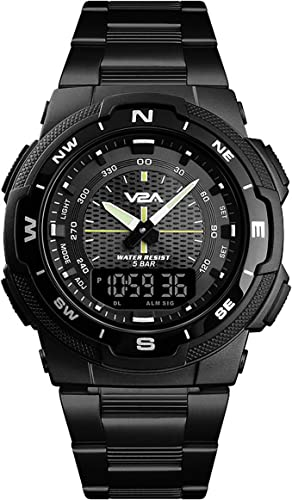 Analogue Digital Black Dial Men s Watch