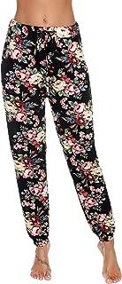 Aibrou Women's V Neck Short Sleeve Sleepwear Cotton Pajama Set