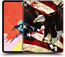 Official Jason Bullard The Cost of Freedom America Hard Back Case Compatible for iPad Pro 12.9 (2018)