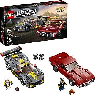 LEGO Speed Champions Chevrolet Corvette C8.R Race Car and...