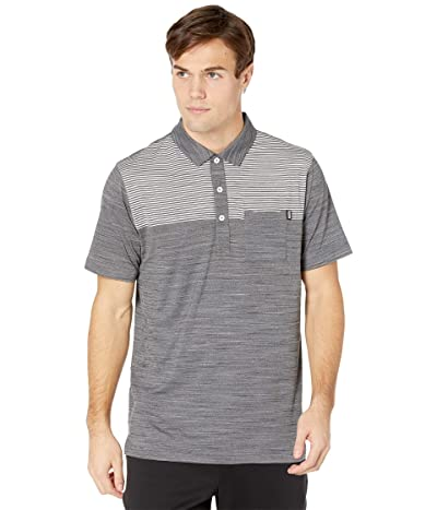 PUMA Golf Cloudspun Pocket Polo (Puma Black Heather) Men