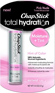 ChapStick Total Hydration Pink Nude 0.12 oz (Pack of 2)