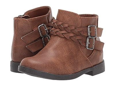 Blowfish Kids Settle-T (Toddler/Little Kid) (Tobacco Bronco PU 1) Girls Shoes