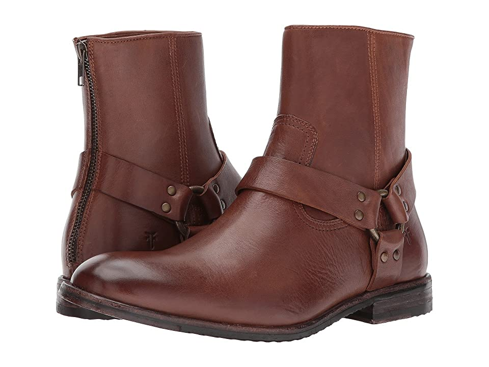 Frye Sam Harness (Whiskey Smooth Full Grain) Men