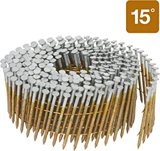 Metabo HPT Siding Nails, 1-3/4-Inch x .092-Inch, Collated Wire Coil, 15 Degree, Full..