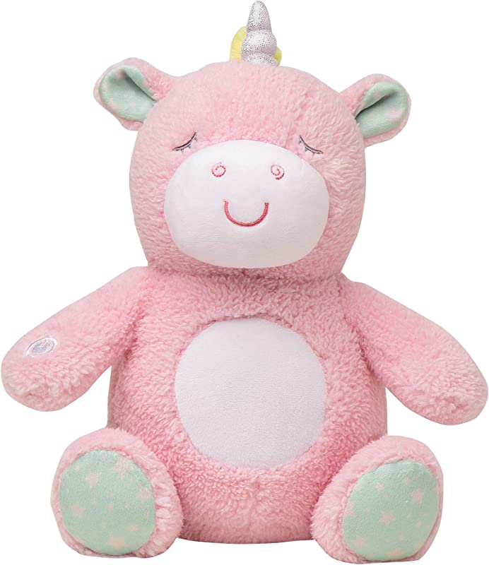 Soft Dreams Unicorn Music And Glow Soother Pink Mint