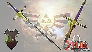 "41"" Princess Zelda's Royal Gold /Purple handle Legend of Zelda Twilight Master Sword"