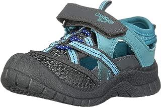 OshKosh B'Gosh 儿童 Paul 男孩运动型坡跟凉鞋