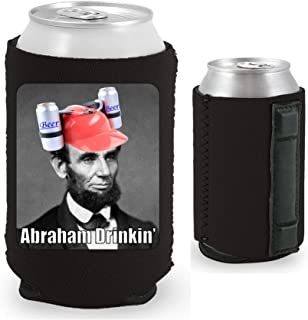Abraham Drinkin' Magnetic Can Coolie (Black, 1)