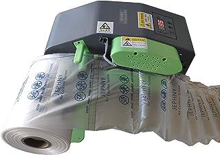 Super Fast Air Pillow Maker Air Cushion Machine Air Packing Machine Inflatable Packaging + 1968.5ft Free Film Roll