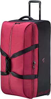 Delsey Paris 00322324004 Children's Softside Luggage, Red, 78 Centimeters
