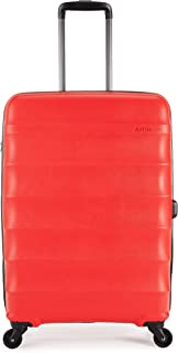 Antler - Juno 68cm Medium Hardside 4 Wheel Suitcase - Red