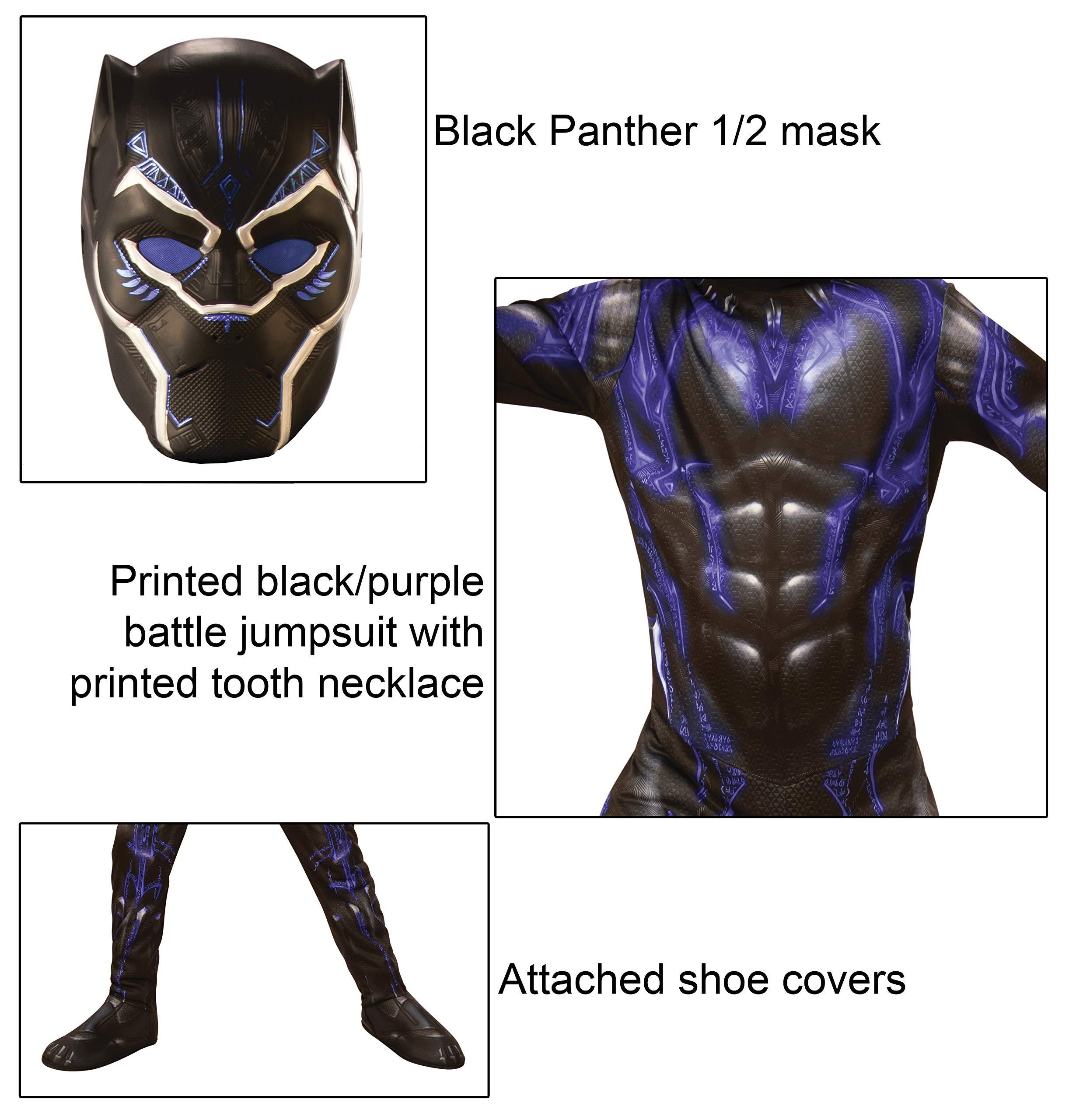 Endgame Classic Disfraz Black Panther Battle, M, Multicolor ...