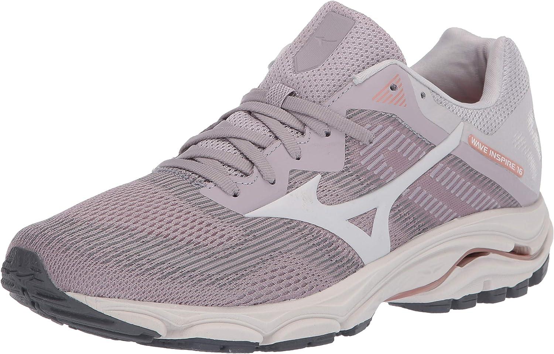 Mizuno Women's Wave Inspire Max 68% OFF San Francisco Mall Running Shoe 16 Road