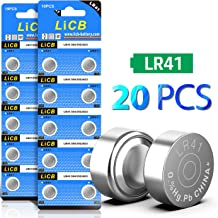 LiCB 20 Pack LR41 AG3 392 384 192 Battery 1.5V Button Coin Cell Batteries