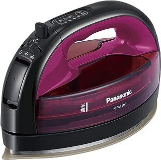 パナソニック コードレススチームWヘッドアイロン ピンク NI-WL505-P