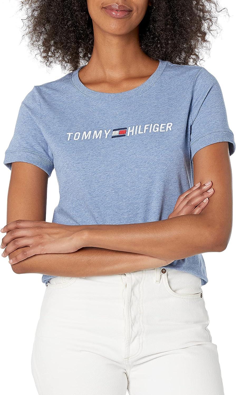 Tommy Hilfiger Women's Premium Short Sleeve Crew Neck T-Shirt