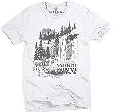 Superluxe Clothing Mens Vintage Yosemite National Park Unisex Tri-Blend T-Shirt