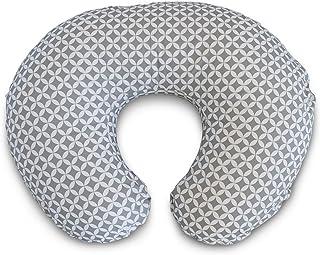 Boppy Nursing Pillow and Positioner, Gray/White