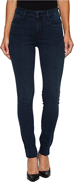 NYDJ Alina Legging Jeans w/ Panelling in Future Fit Denim in Mason