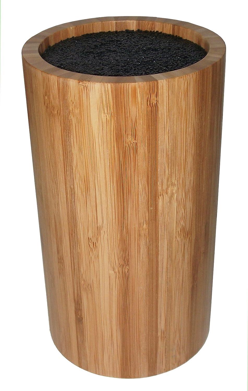 Point-Virgule PV-BAM-1123 Bamboo Messerblock, Rund, Ohne Ohne Ohne Messer, Ø 12cm, H 22cm B00LFL2W3G 6cfb65