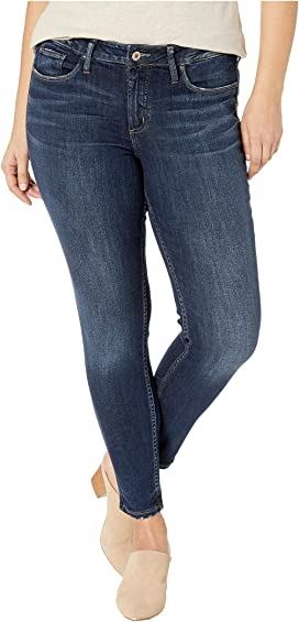 c90cbd82 Silver Jeans Co. Plus Size Suki Mid-Rise Well Defined Curve Straight ...