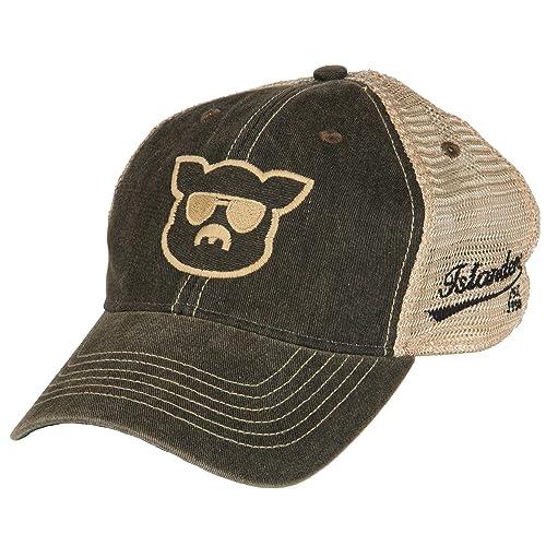 bdca6717ee0 Islanders Mossy Oak Treestand Pig Face Trucker Hat Green