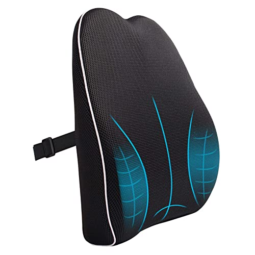 Dimensioni: 45x48x9 cm Formalind/® Visco-System Perfetto per Decompressione Cuscino per Seduta Ortopedico Sollievo Mal di Schiena Disco Intervertebrale e Sciatalgia