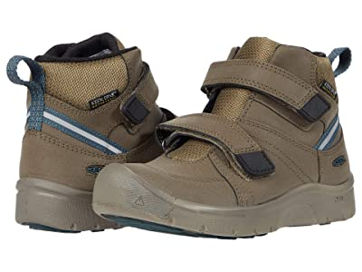KEEN Kids Hikeport 2 Mid Strap WP (Toddler/Little Kid) (Canteen/Balsam) Boy