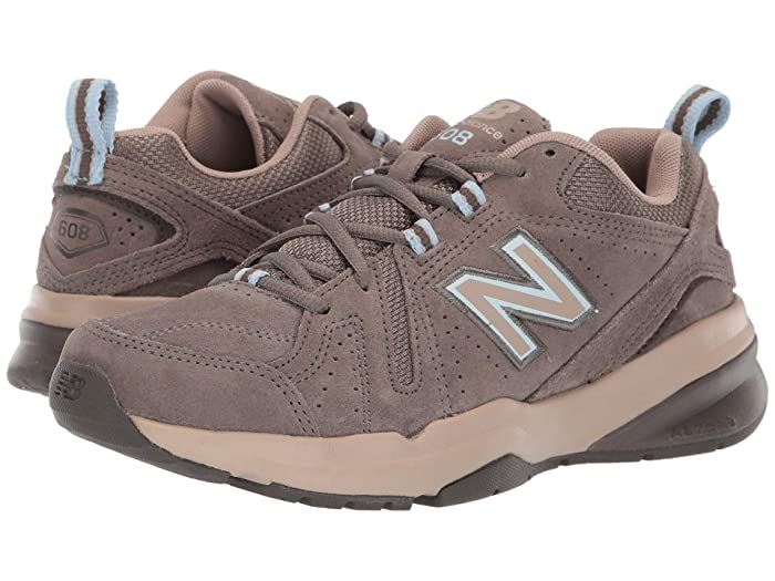 New Balance  608v5 (Bungee/Burlap/Wren/Air) Womens Cross Training Shoes