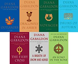 The Outlander Series 7-Book Paperback Set Diana Gabaldon: Outlander, Dragonfly in Amber, Voyager, Drums of Autumn, The Fie...