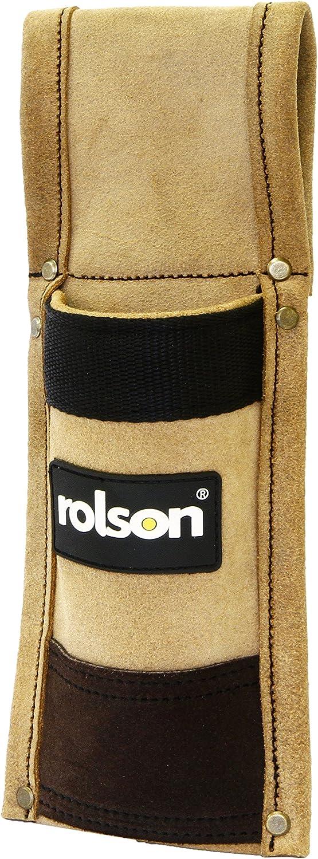 Rolson 68579 Leather Spirit Level Holder - Multi-Colour