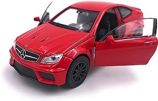 H Customs Mercedes C63 Black Series Modellauto Auto Lizenzprodukt 1:34 1:39 Rot