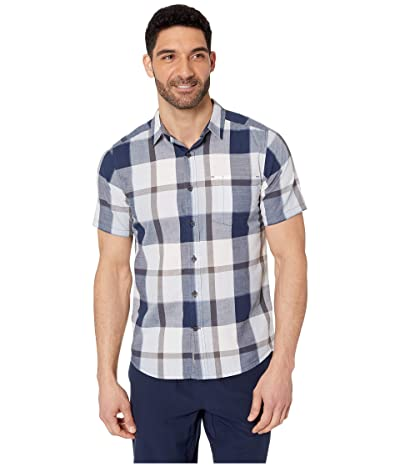 Royal Robbins Sawtooth Plaid Short Sleeve Shirt (Cloud) Men