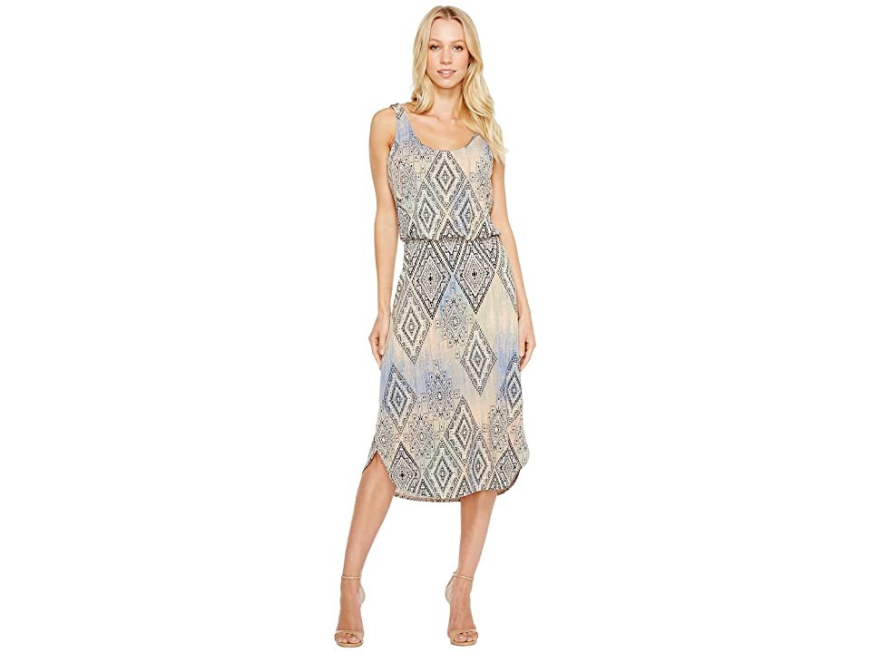 Tart Soraya Midi Dress (Aztec Overlay Diamonds) Women
