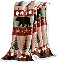 cuddly cabin throw blanket