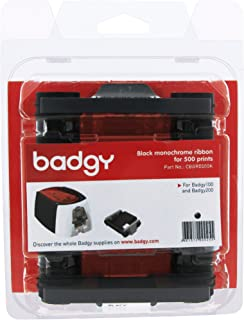 Evolis Badgy100 & 200 Black Ribbon - Compatible with Badgy100 & 200 printers only - CBGR0500K