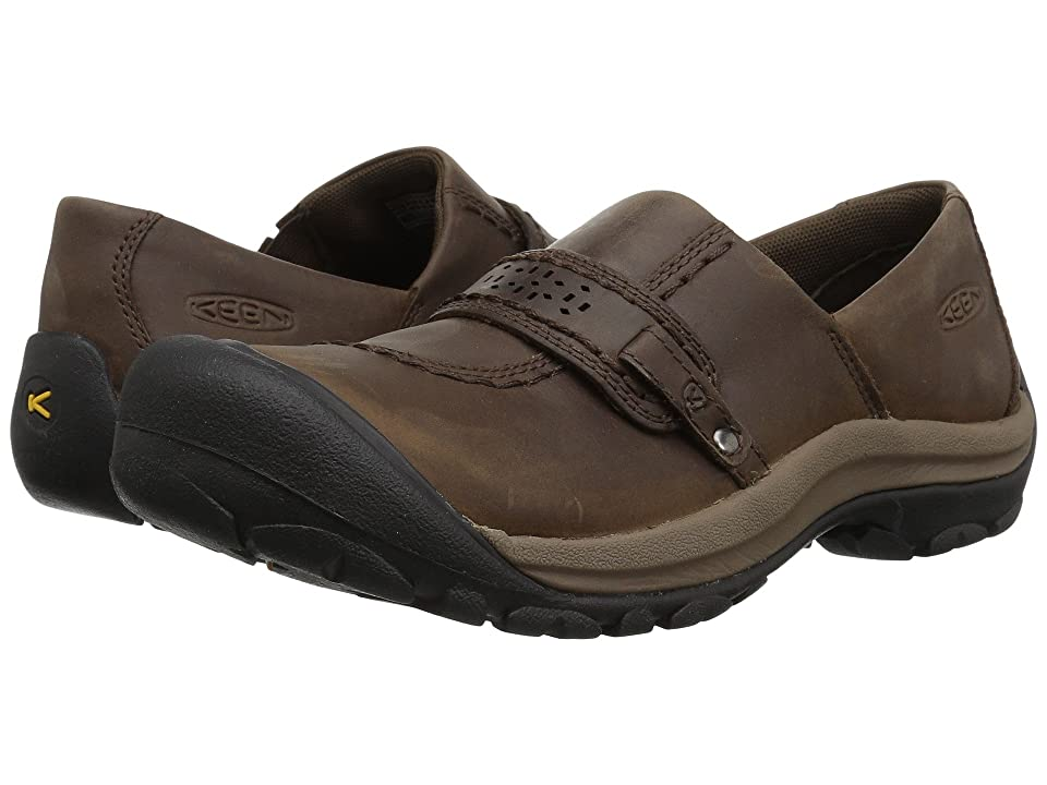 Keen Kaci Full Grain Slip-On (Cascade Brown) Women
