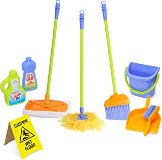Kidzlane Kids Cleaning Set for Toddlers Up to Age 4. Includes 6 Cleaning Toys + Housekeeping Accessories. Hours of Fun & P...