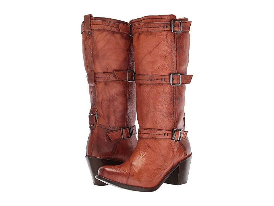 Frye Carmen 3 Strap (Saddle) Women