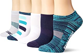 Spalding Women's 5 Pack No Show Socks