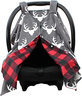 peek a boo car seat cover