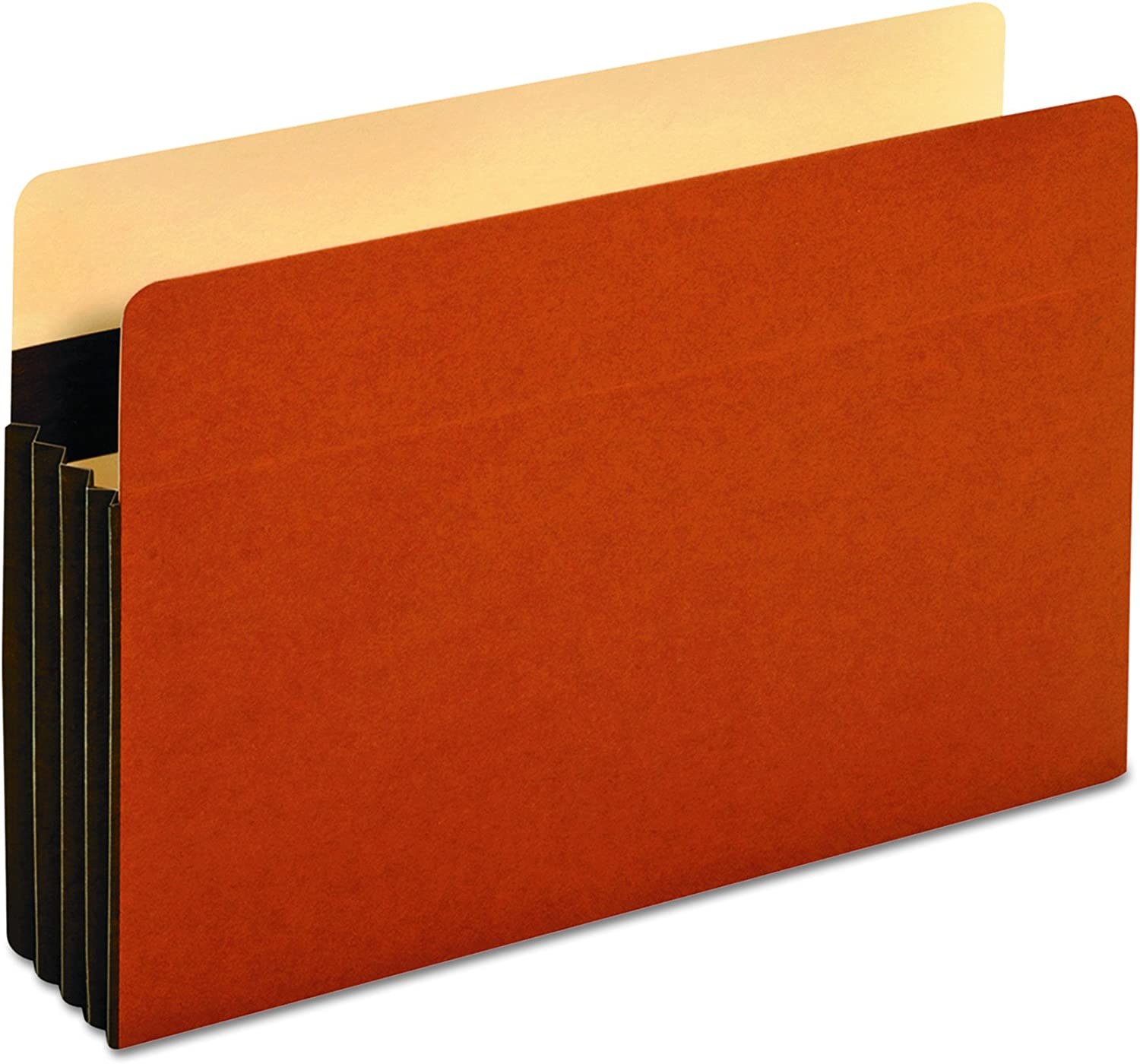 File Pockets, Legal, 24 Pt., 31 2 , Exp, Brown, Sold as 1 Box