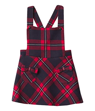 Janie and Jack Plaid Jumper (Infant) (Navy) Girl