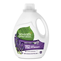 Seventh Generation Liquid Laundry Detergent, Fresh Lavender scent, 100 oz, 66 Loads (Packaging May V