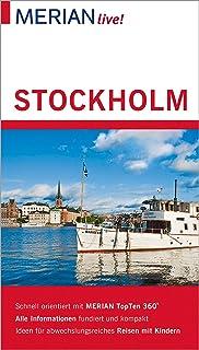 MERIAN live! Reiseführer Stockholm: Mit Extra-Karte zum Her