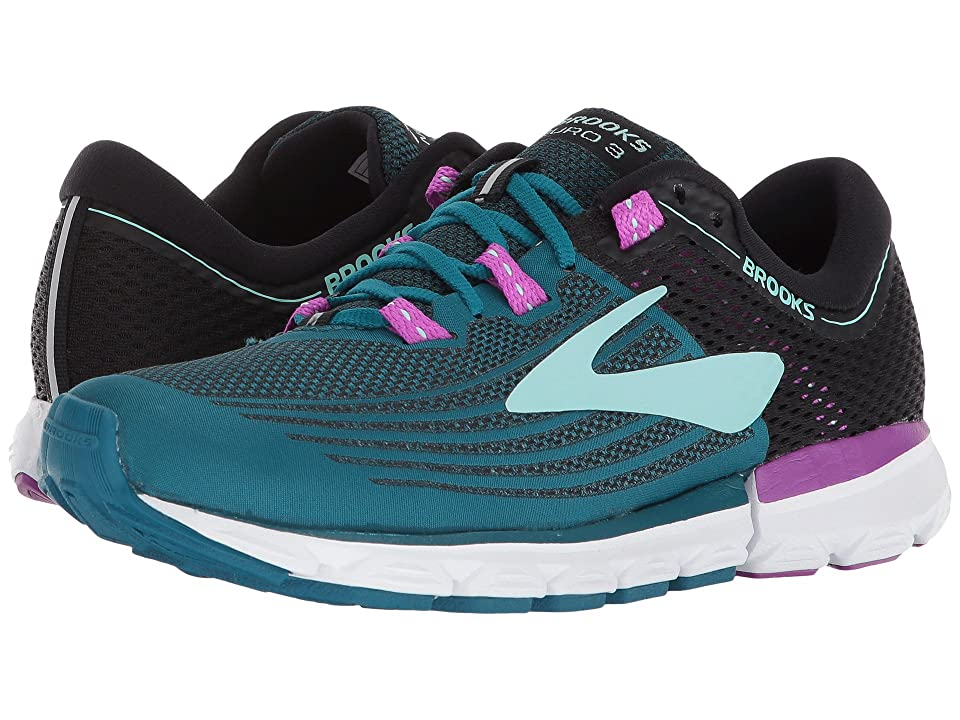 Brooks Neuro 3 (Lagoon/Black/Purple) Women