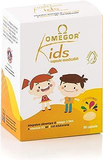 OMEGOR® Kids cápsulas para niños | 250 mg de omega-3 DHA | Exquisitas