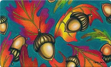 Toland Home Garden Autumn Acorns 18 x 30 Inch Decorative Floor Mat Leaf Colorful Fall Leaves Seasonal Doormat