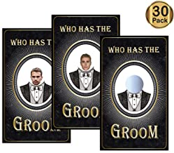 30 Scratch Off Bridal Shower Game - Who Has The Groom,Funny Bachelorette Party Game, Bride to Be, Bachelorette Party Ideas Supplies.